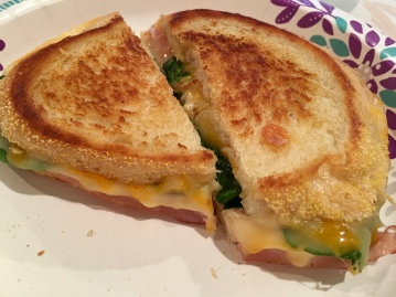 Yummy Grilled Cheese n Spinach